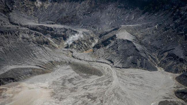 Erupsi Gunung Tangkuban Parahu Tak Pengaruhi Sesar Lembang