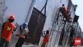 Operasional Museum Bahari berjalan normal meski ada proyek konservasi. (CNN Indonesia/Hesti Rika)