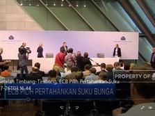 Setelah Timbang-Timbang, ECB Pilih Pertahankan Suku Bunga