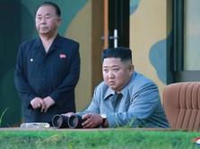 Awas Geger, Kim Jong Un Lempar Rudal Korut, Ngajak Perang AS?