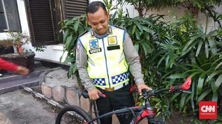 Polisi Tetapkan Tersangka Pengemudi Seret Polantas di Bandung