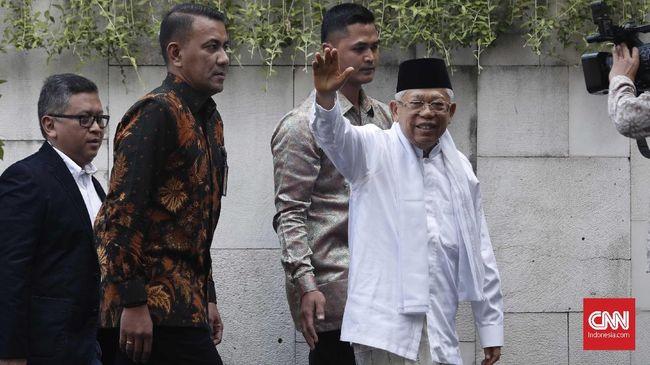 Sebelum Pelantikan, Ma'ruf Amin Tak Absen Olahraga Pagi