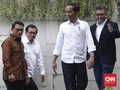Jokowi Bantah Koalisi Retak Usai Surya Paloh Bertemu Anies