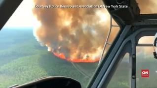 VIDEO: Kebakaran Lahap Hampir 2 Juta Hektar Hutan di Alaska