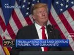 Kepala Batu, Trump Veto Larangan Kongres AS Jual Senjata