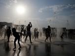 Ini Aktivitas Warga Eropa Saat Diterjang Gelombang Panas