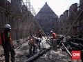 FOTO : Proyek Konservasi Museum Bahari usai Terbakar