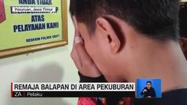 VIDEO: Remaja Balapan di Atas Makam Minta Maaf