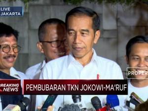 Jokowi : Belum Ada Nama Calon Menteri