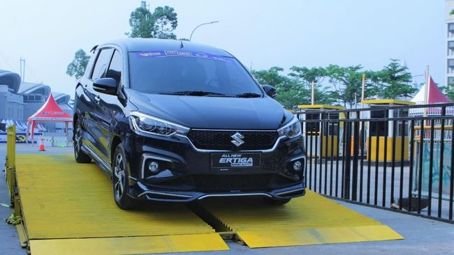 Ertiga Buatan Cikarang Raih 4 Bintang Uji Tabrak ASEAN NCAP