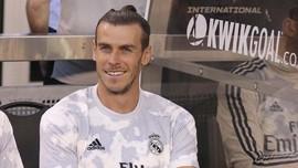 Real Madrid Lawan Salzburg, Bale Kembali Ditinggal