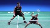 Ganda campuran Praveen Jordan/Melati Daeva Oktavianti jadi wakil pertama Indonesia yang lolos ke final Japan Open 2019 usai mengalahkanHafiz Faizal/Gloria Emmanuelle Widjaja di semifinal. (Dok. PBSI)