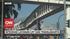 VIDEO: Intergrasi Layanan LRT dan Transjakarta