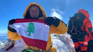 VIDEO: Curhat Wanita Lebanon Penakluk Everest