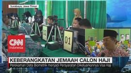 VIDEO: Perekaman Biometrik Calon Jemaah Haji