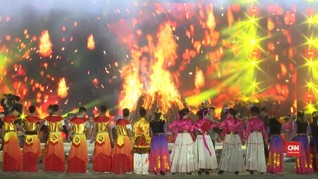 VIDEO: Meriahnya Festival Obor di China