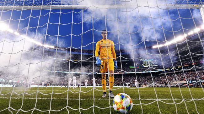 Courtois, Raksasa Rapuh Milik Real Madrid