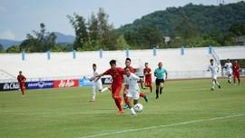 Timnas Indonesia U-15 Unggul atas Singapura 1-0 di Babak I