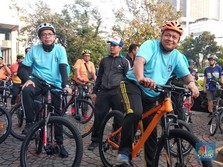 Healthy Mind, Body & Spirit! Bos BI Masih Kuat Gowes
