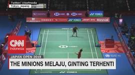 VIDEO: The Minions Melaju, Ginting Terhenti