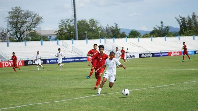 Timnas Indonesia U-15 Imbang Lawan Vietnam di Babak Pertama