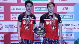 5 Fakta Menarik Usai Kevin/Marcus Juara Japan Open 2019