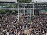 Demo Pecah di Hong Kong, Peluru Karet & Gas Air Mata Melayang