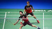 Susah Payah Kalahkan Ganda Korsel, Kevin/Marcus Jejak Perempatfinal China Open