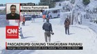 VIDEO: Pasca Erupsi Gunung Tangkuban Parahu