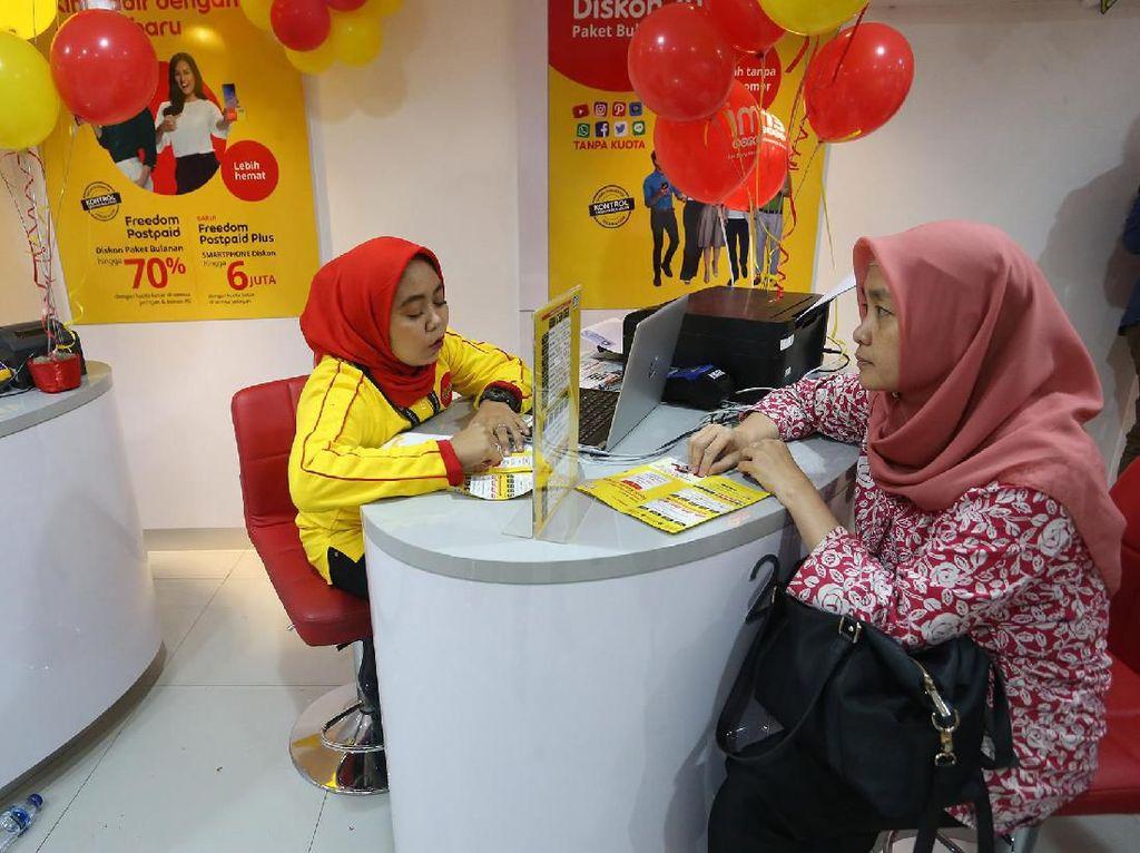 Gerai Indosat Kalibata ini mengenalkan layanan baru untuk memudahkan pelanggan. Istimewa/Indosat.
