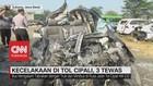 VIDEO: Kecelakaan di Tol Cipali, 3 Tewas