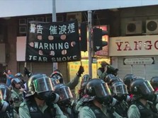 Demo Hong Kong Rusuh Lagi
