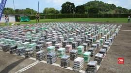 VIDEO: Panama Sita Empat Ton Kokain Selundupan