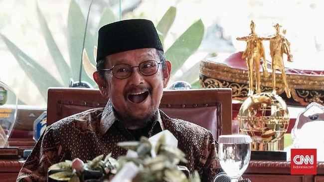 Integritas Habibie di Mata Mahfud MD dan Pimpinan KPK