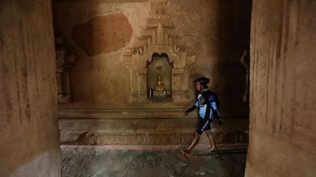 Bagan masuk dalam daftar Situs Warisan Budaya UNESCO pada tahun ini, bersamaan dengan komplek Tambang Sawahlunto di Sumatera Barat. (AFP Photo/Ye Aung Thu)