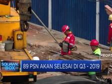 Wow! 89 Proyek Infrastruktur Dikebut Selesai di Kuartal III