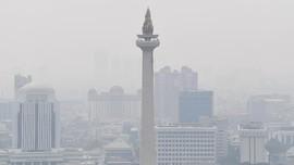 Sabtu Pagi, Polusi Udara Jakarta Terburuk di Dunia