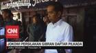 VIDEO: Jokowi Persilahkan Gibran Daftar Pilkada