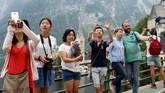 Saking cantiknya pemandangan di Hallstatt, pemerintah China berusaha membuat replikanya di kawasan Luoyang, Boluo. (REUTERS/Lisi Niesner)