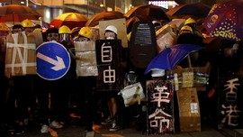 Asa Demonstran Hong Kong ke Trump sampai Negosiasi AS-Taliban