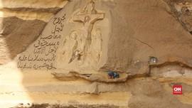 VIDEO: Pria Polandia Ukir Gereja di Gua Mesir Dua Dekade