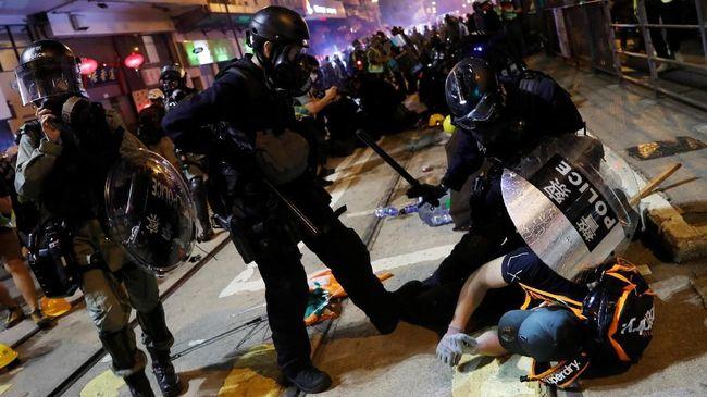 Puluhan Demonstran Hong Kong Mulai Diadili