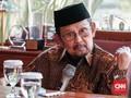 BJ Habibie Dirawat di RSPAD Gatot Soebroto