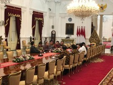 Bos Softbank, Grab & Tokopedia Sowan ke Jokowi, Bahas Apa?