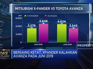 Penjualan Xpander Kalahkan Avanza Pada Juni 2019