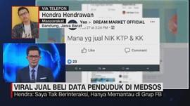 VIDEO: Viral Jual Beli Data Penduduk di Medsos