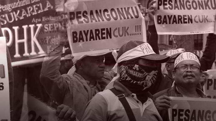 Dampak pandemi corona telah membuat ribuan orang kehilangan pekerjaan.