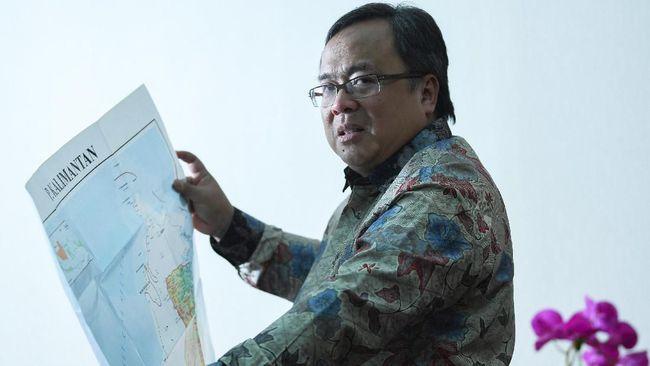 Pemerintah Cuma Gelontorkan Rp93 T untuk Ibu Kota Baru