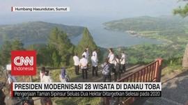 VIDEO: Presiden Modernisasi 28 Wisata di Danau Toba