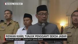 VIDEO: Ridwan Kamil Tunjuk Pengganti Sekda Jabar